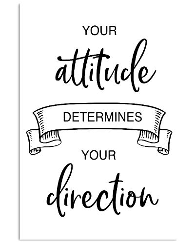 your attitude determines your direction 2