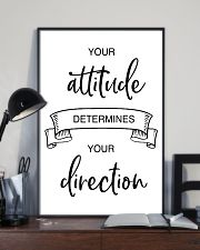 your attitude determines your direction 2 24x36 Poster lifestyle-poster-2
