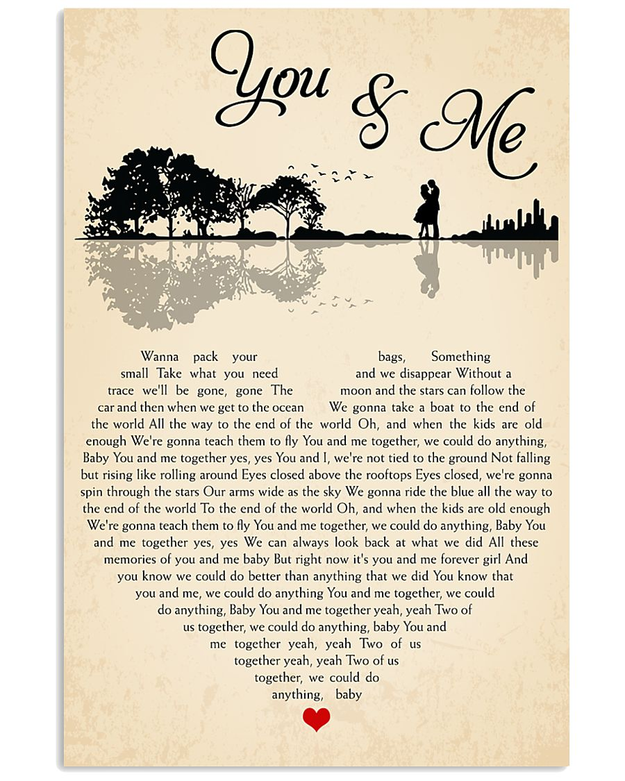 You And Me 24x36 Poster