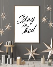 Stay in bed 24x36 Poster lifestyle-holiday-poster-1