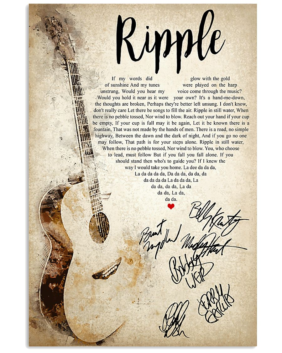 Ripple 24x36 Poster