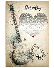 Paradise 24x36 Poster front