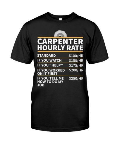 Carpenter Hourly rate