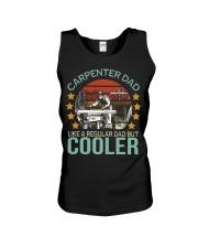 Carpenter dad like a regular dad but cooler Unisex Tank thumbnail