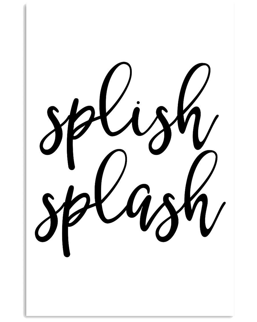 splish splash 24x36 Poster