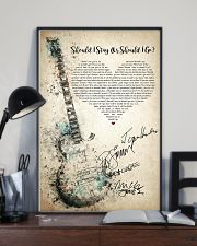 Should I Stay Or Should I Go 24x36 Poster lifestyle-poster-2