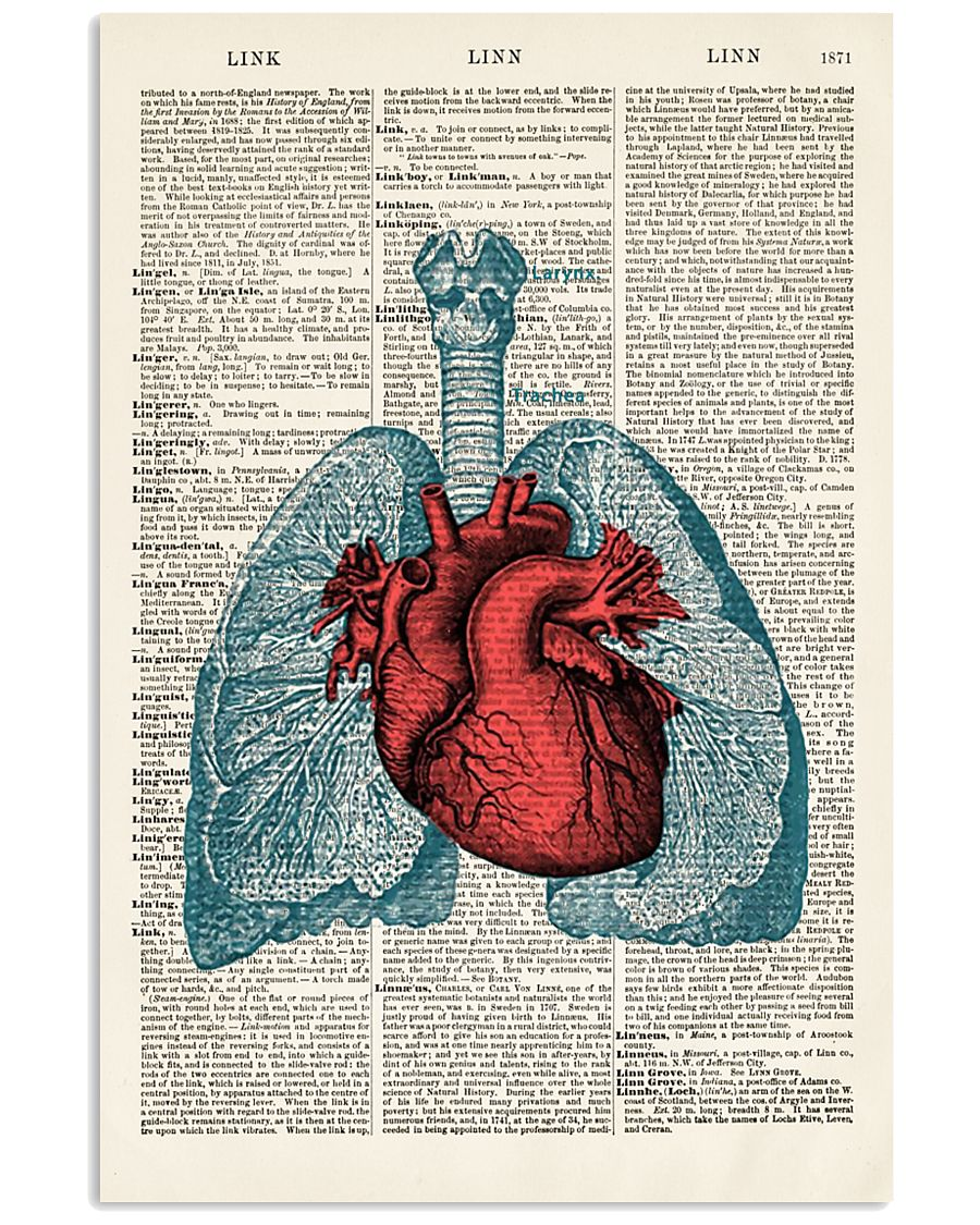 Lung Anatomy 24x36 Poster