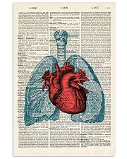 Lung Anatomy 24x36 Poster front