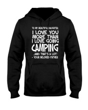 TO MY BEAUTIFUL DAUGHTER Hooded Sweatshirt thumbnail