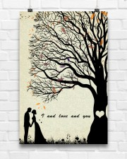 I and love and you 24x36 Poster aos-poster-portrait-24x36-lifestyle-17