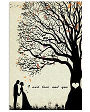 I and love and you 24x36 Poster front