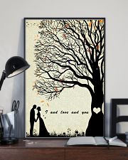 I and love and you 24x36 Poster lifestyle-poster-2