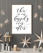 This is our happily ever after 24x36 Poster lifestyle-holiday-poster-1