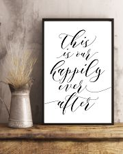 This is our happily ever after 24x36 Poster lifestyle-poster-3