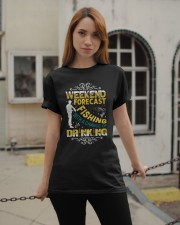 Weekend forecast fishing Classic T-Shirt apparel-classic-tshirt-lifestyle-19