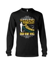Weekend forecast fishing Long Sleeve Tee thumbnail