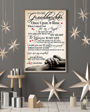 To my granddaughter 24x36 Poster lifestyle-holiday-poster-1