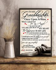 To my granddaughter 24x36 Poster lifestyle-poster-3
