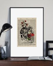 Nurse Heart 24x36 Poster lifestyle-poster-2