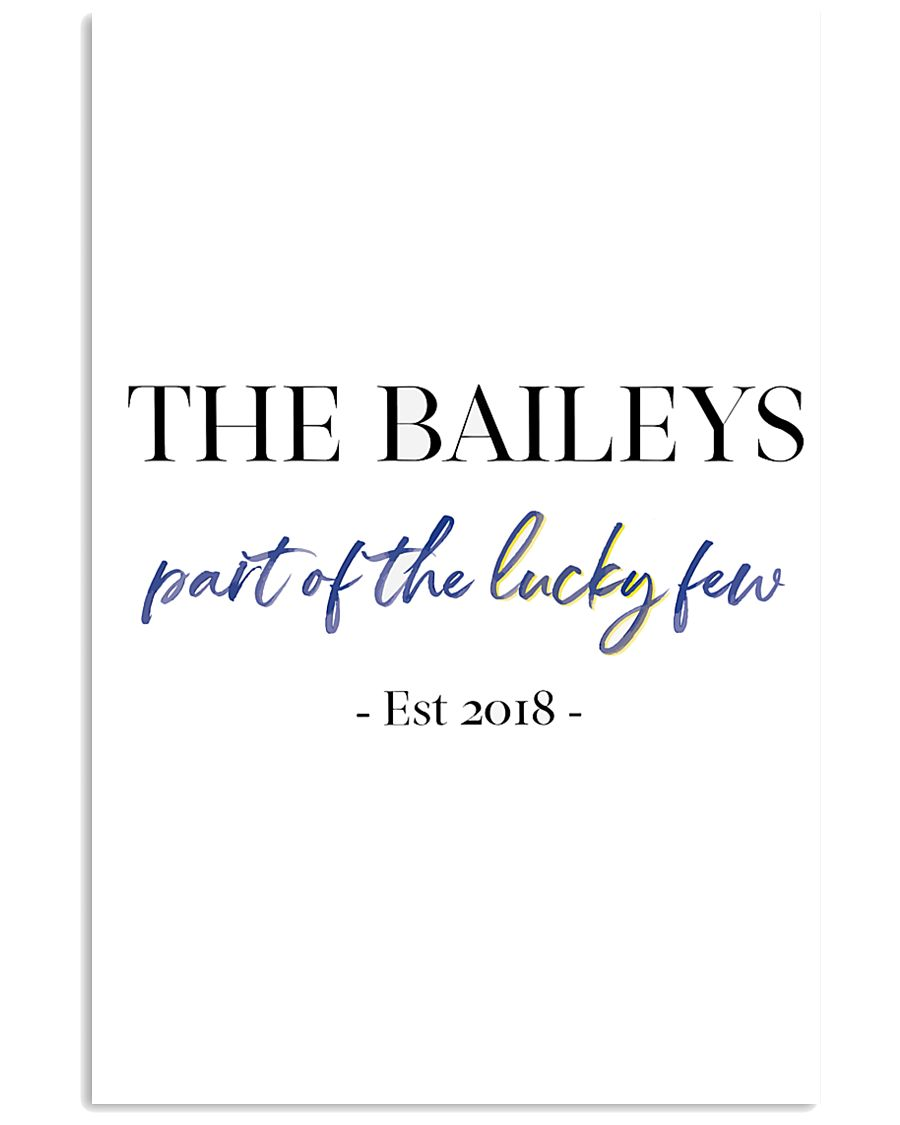 The Baileys paint of the lucky few 24x36 Poster
