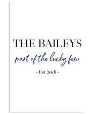 The Baileys paint of the lucky few 24x36 Poster front