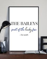 The Baileys paint of the lucky few 24x36 Poster lifestyle-poster-2