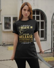 I believe in catch and release Classic T-Shirt apparel-classic-tshirt-lifestyle-19