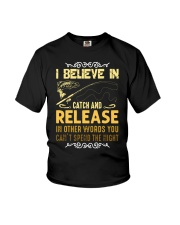 I believe in catch and release Youth T-Shirt thumbnail