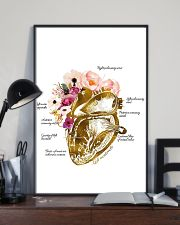 Heart Nurse Floral 2 24x36 Poster lifestyle-poster-2