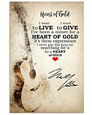 Heart Of Gold 24x36 Poster front