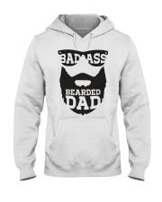 Badass beared dad Hooded Sweatshirt thumbnail