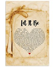 Let It Be 24x36 Poster front