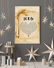 Let It Be 24x36 Poster lifestyle-holiday-poster-1