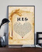 Let It Be 24x36 Poster lifestyle-poster-2