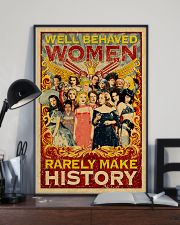 Well behaved woman 24x36 Poster lifestyle-poster-2