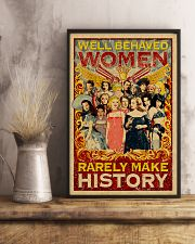 Well behaved woman 24x36 Poster lifestyle-poster-3