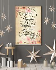 Every family is beatiful but ours is my favorite 24x36 Poster lifestyle-holiday-poster-1