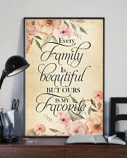 Every family is beatiful but ours is my favorite 24x36 Poster lifestyle-poster-2