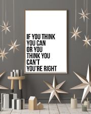Ì YOU THINK YOU CAN OR YOU THINK YOU CANT 24x36 Poster lifestyle-holiday-poster-1