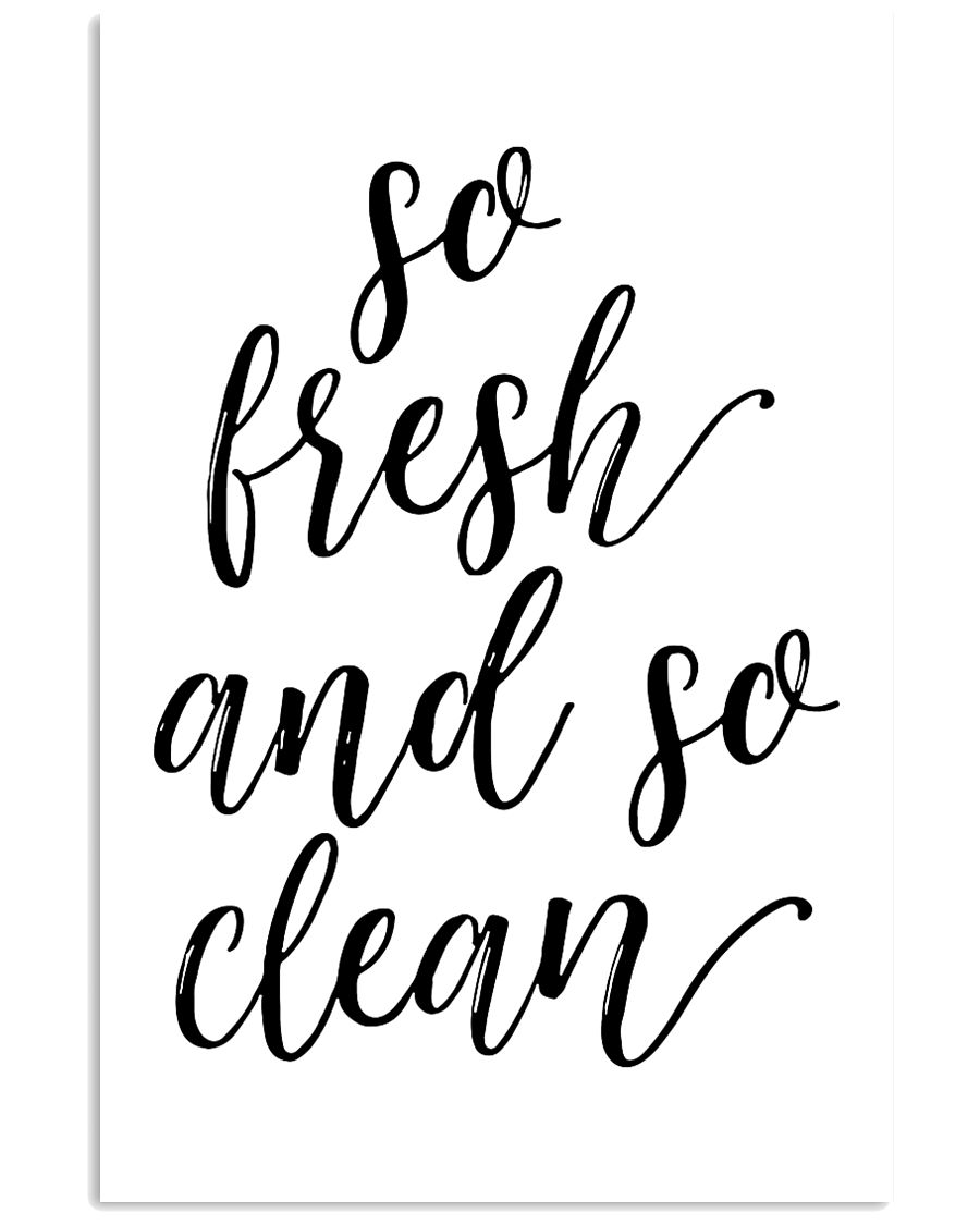 So fresh and so clean 24x36 Poster