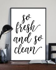 So fresh and so clean 24x36 Poster lifestyle-poster-2