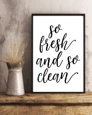 So fresh and so clean 24x36 Poster lifestyle-poster-3