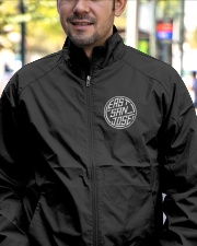 EAST SAN JOSE VINTAGE LOGO WIND BREAKER Lightweight Jacket garment-embroidery-jacket-lifestyle-02
