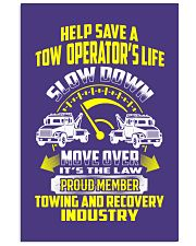 Proud Member Towing And Recovery 24x36 Poster thumbnail