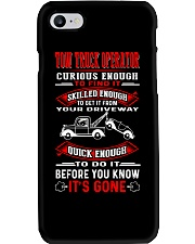 TOW TRUCK OPERATOR QUICK Phone Case tile