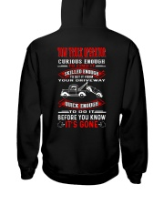 TOW TRUCK OPERATOR QUICK Hooded Sweatshirt back