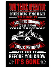 TOW TRUCK OPERATOR QUICK 24x36 Poster thumbnail
