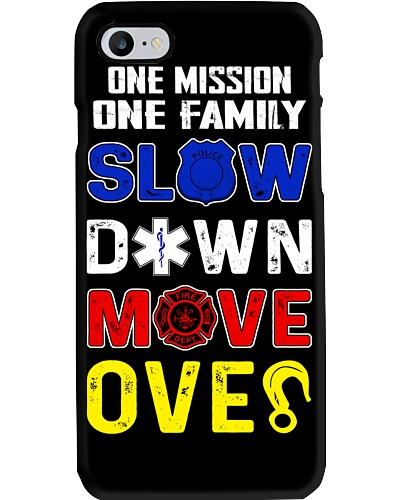 ONE MISSION ONE FAMILY - SLOW DOWN MOVE OVER