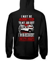 TOW ADDICT Hooded Sweatshirt back