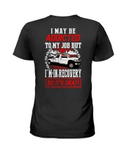 TOW ADDICT Ladies T-Shirt tile